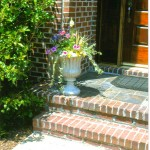 formal entrance container for spring